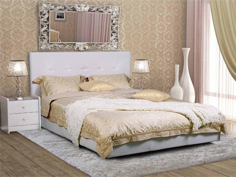 Двуспальная кровать с ортопедическим основанием