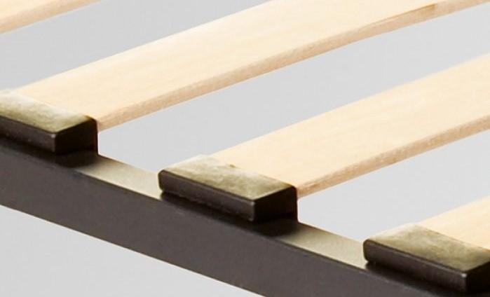Металлическое ортопедическое основание под матрас с деревянными ламелями