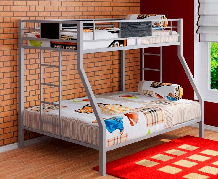 Двухъярусная кровать на металлокаркасе