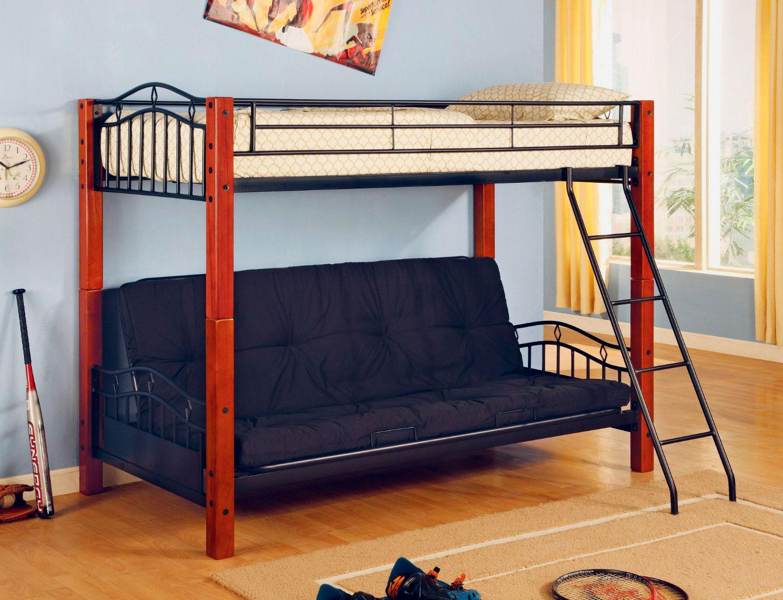 Двухъярусная кровать для взрослых (11)