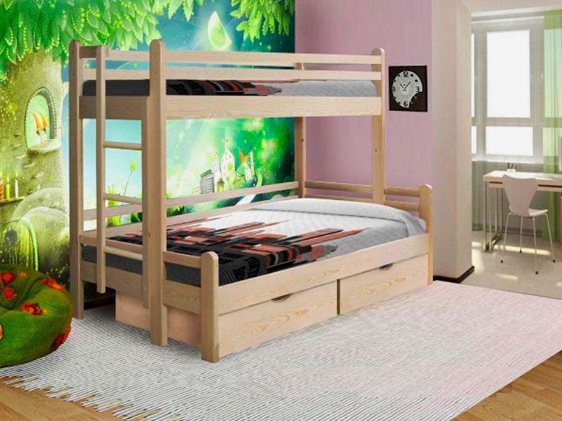 Двухъярусная кровать для взрослых (12)