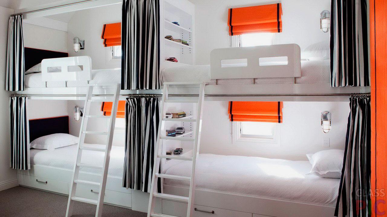 Двухъярусная кровать для взрослых (15)