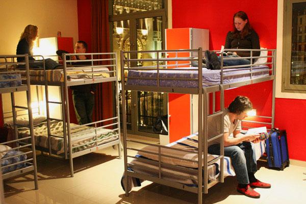 Двухъярусная кровать для взрослых (16)