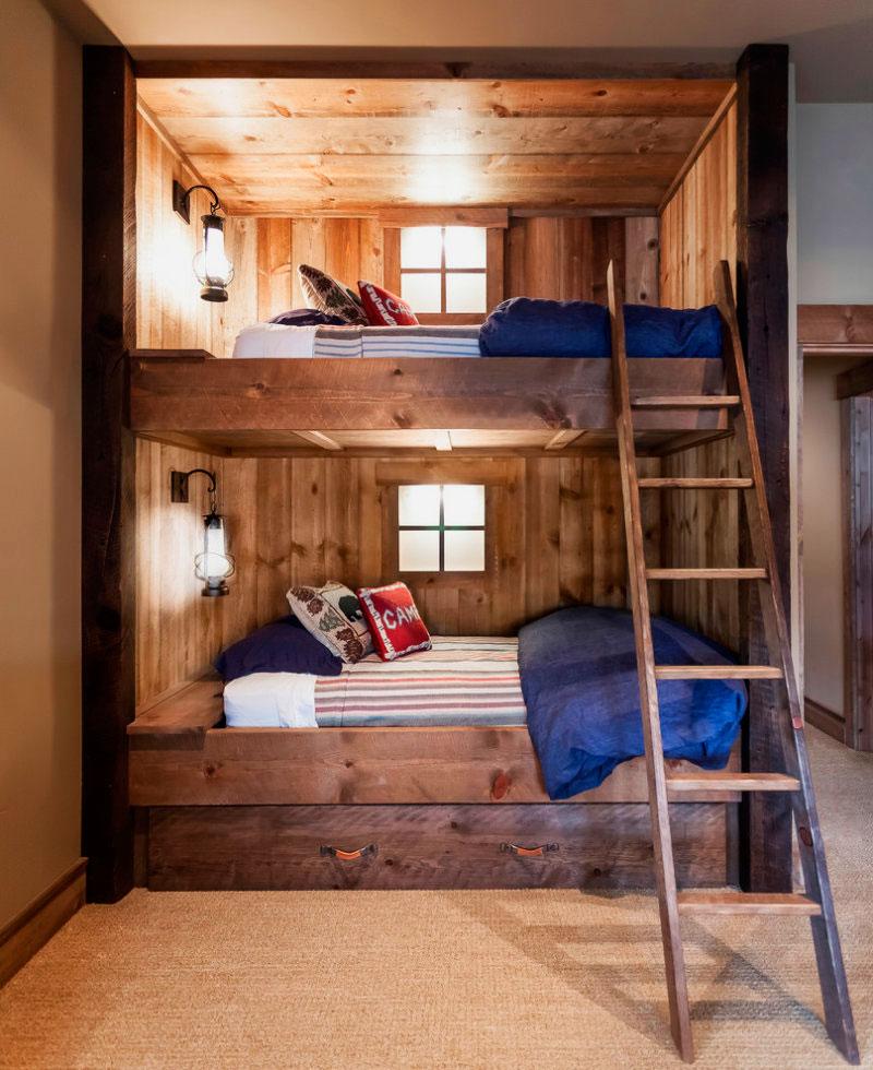 Двухъярусная кровать для взрослых (19)