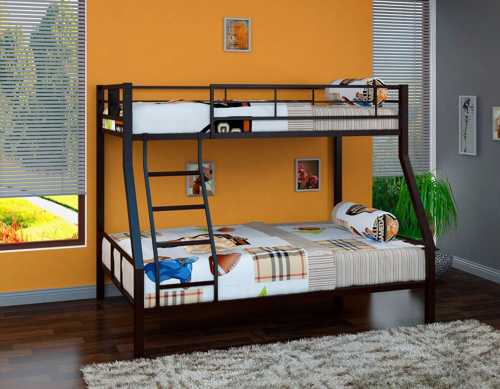 Двухъярусная кровать для взрослых (21)