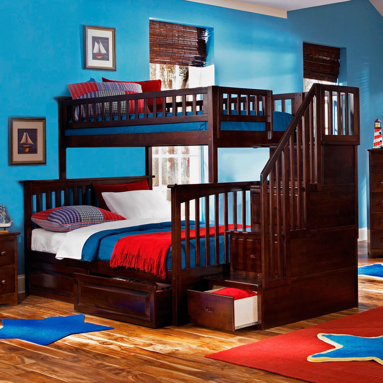 Двухъярусная кровать для взрослых (28)