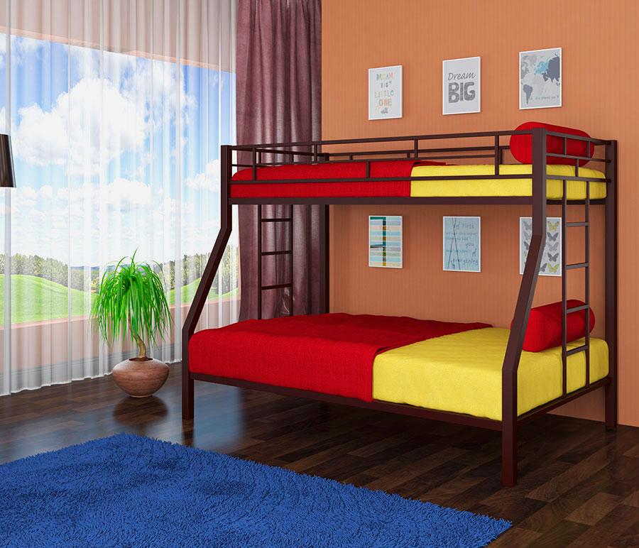 Двухъярусная кровать для взрослых (29)