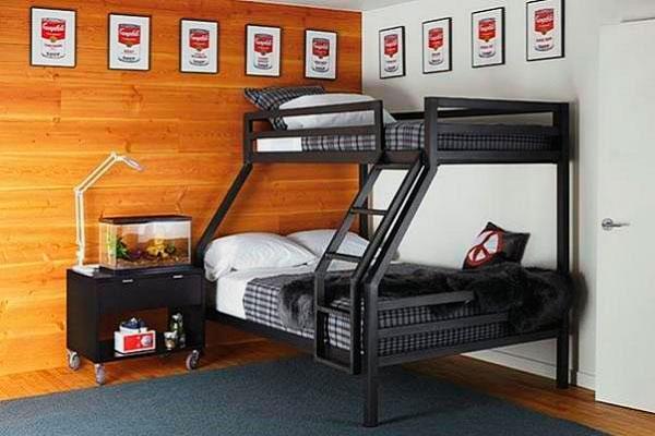 Двухъярусная кровать для взрослых (31)