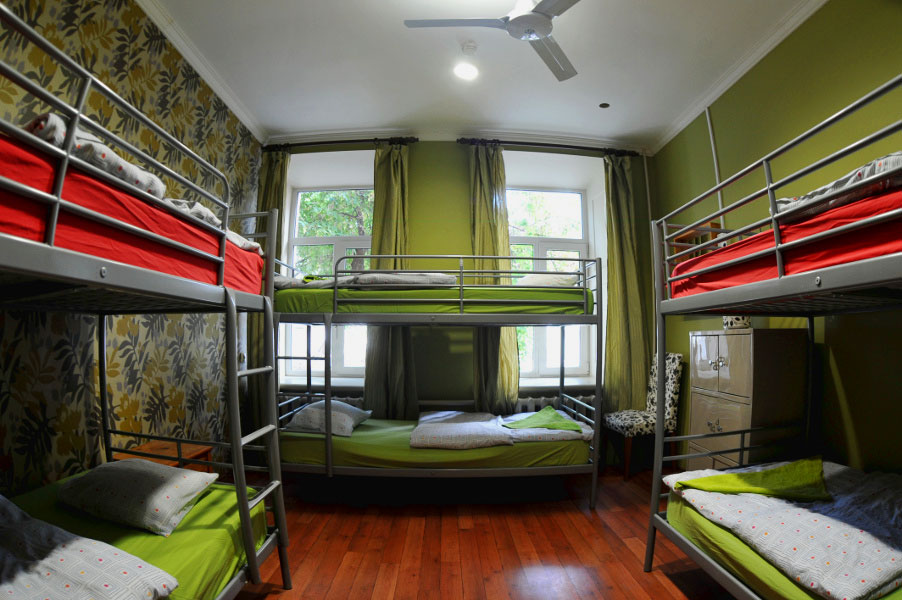 Двухъярусная кровать для взрослых (38)