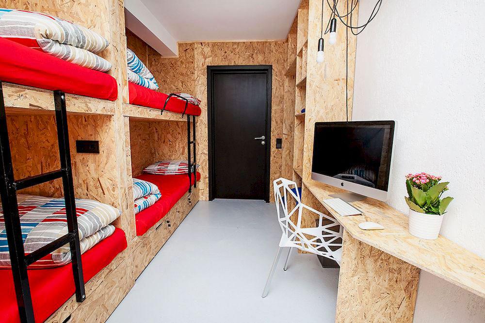 Двухъярусная кровать для взрослых (40)