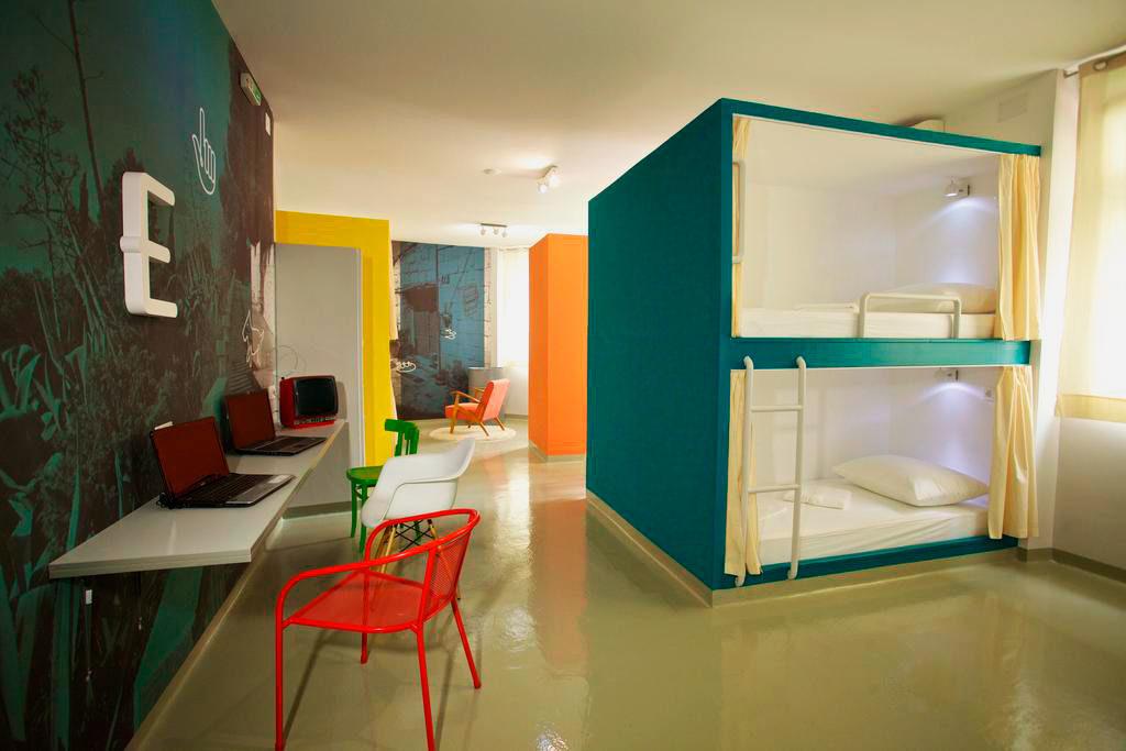 Встроенные взрослые спальные блоки