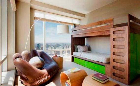Двухъярусная кровать для подростков (12)