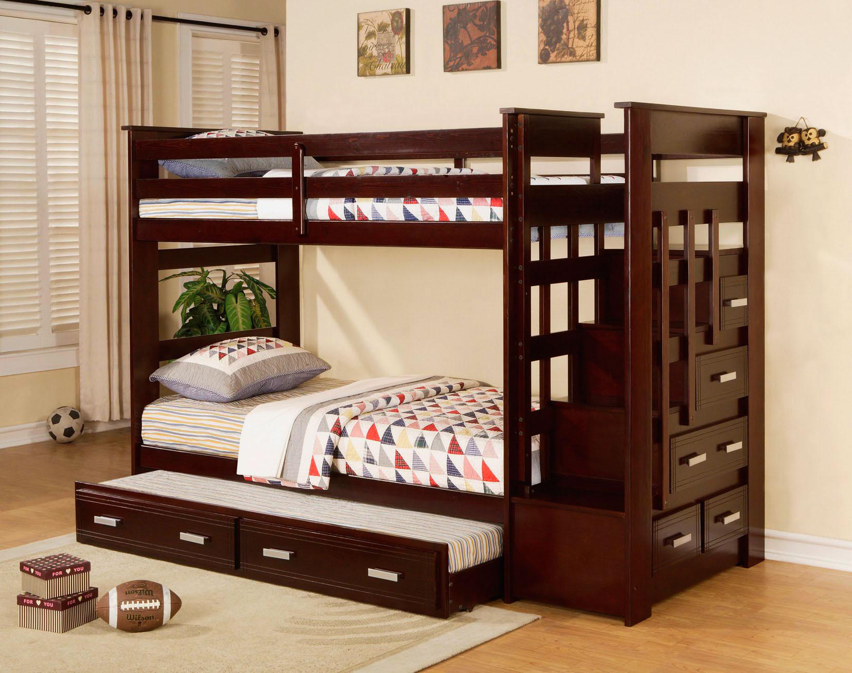 Двухъярусная кровать для подростков (14)