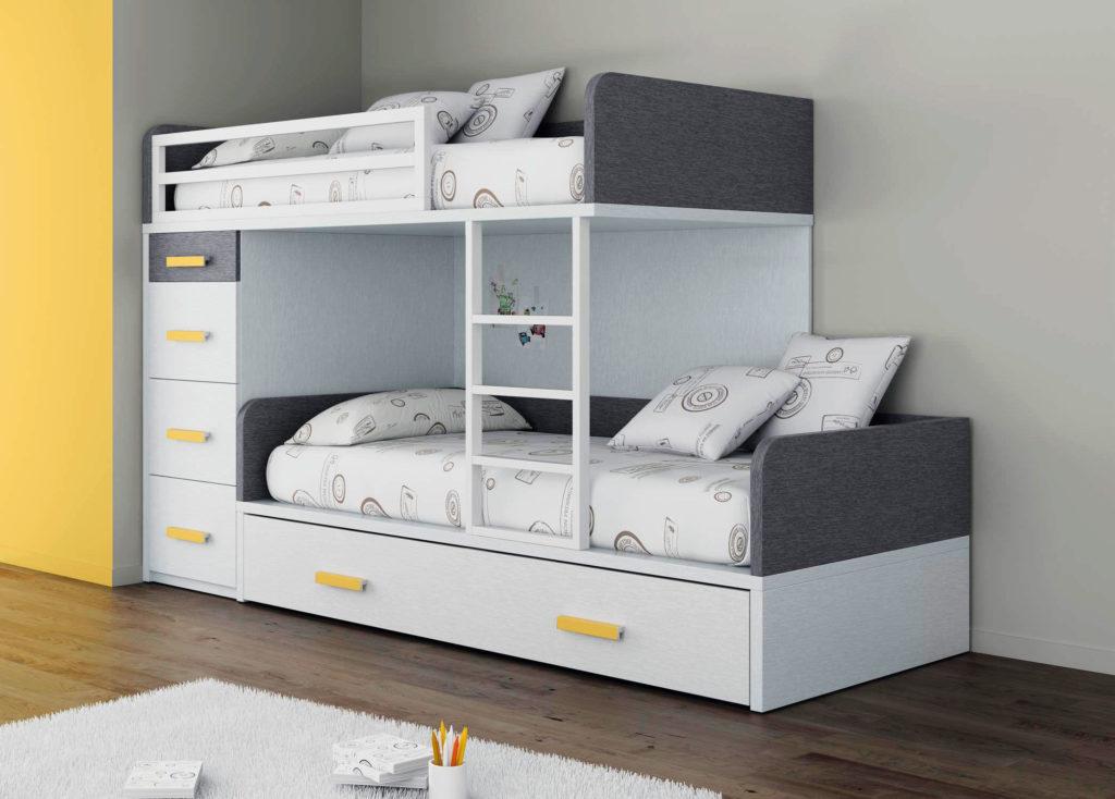 Фото двухъярусной кровати для подростков