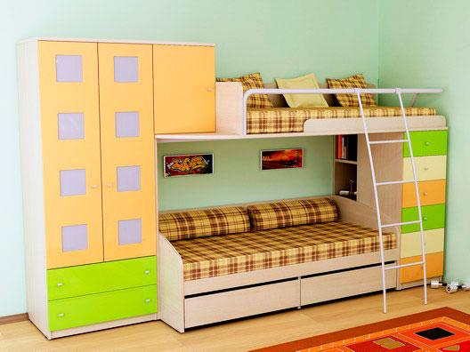 Двухъярусная кровать для подростков (16)
