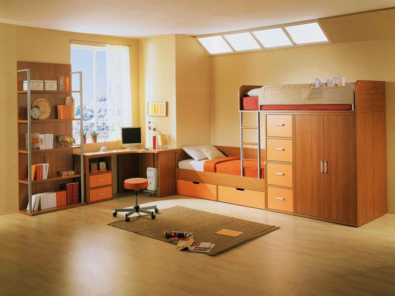 Двухъярусная кровать для подростков (23)