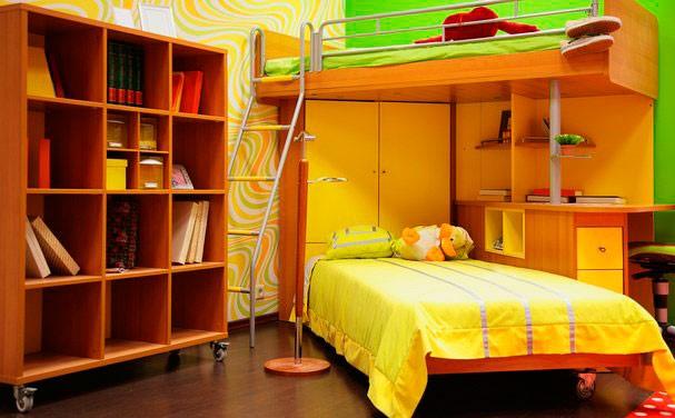 Двухъярусная кровать для подростков (26)