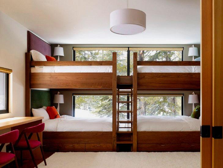 Двухъярусная кровать для подростков (31)
