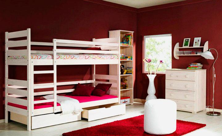 Двухъярусная кровать для подростков (36)