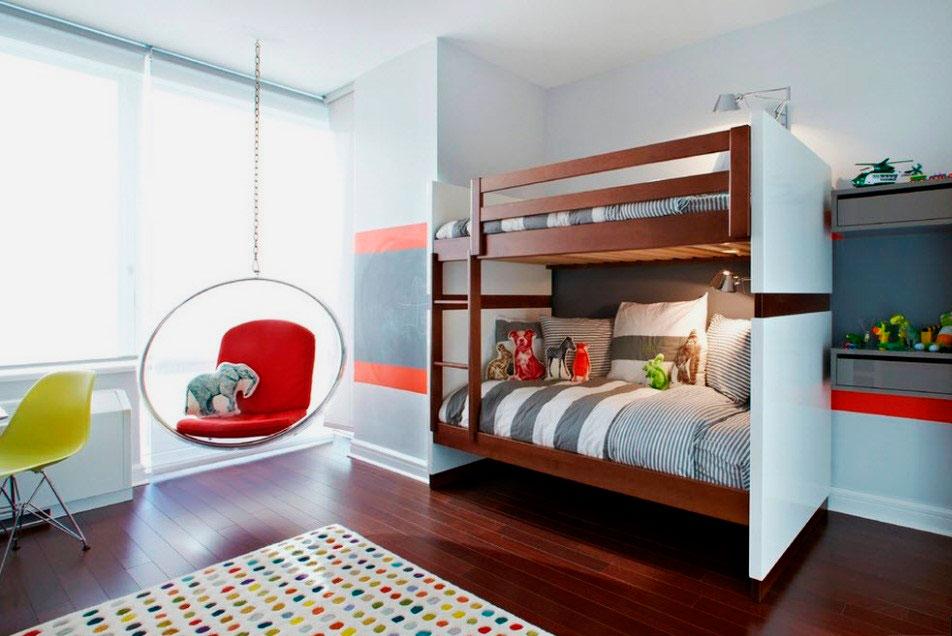 Двухъярусная кровать для подростков (5)