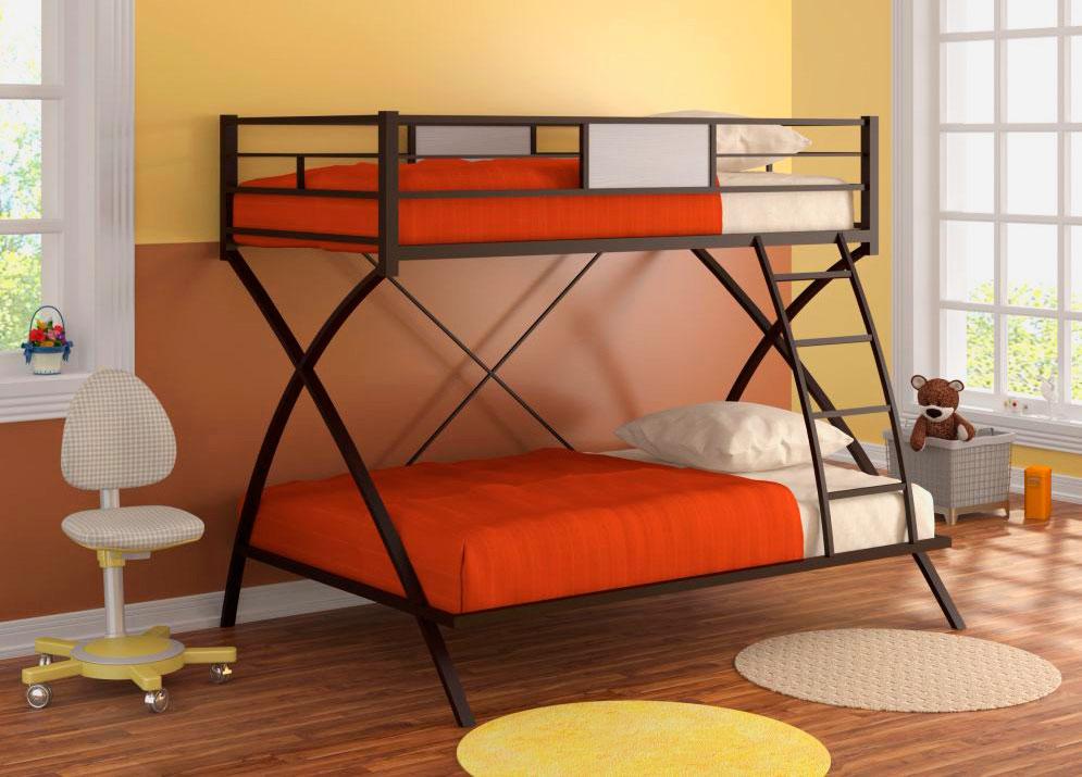 Двухъярусная кровать для подростков (7)