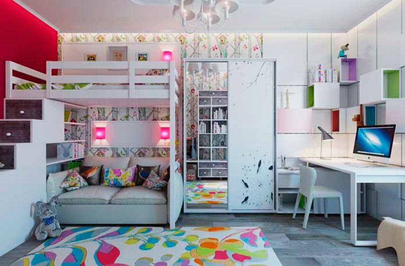 Двухъярусная кровать для подростков (8)