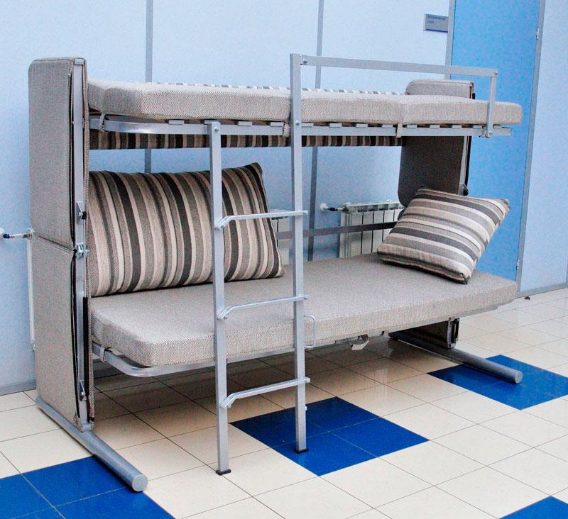 Двухъярусная кровать-трансформер (15)