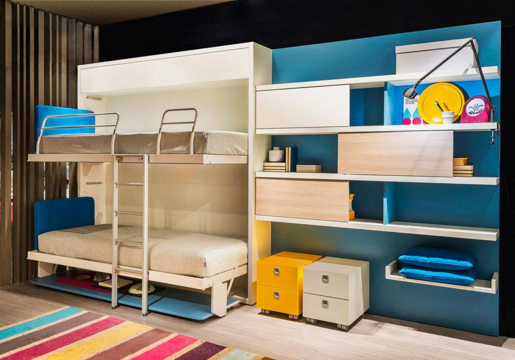 Двухъярусная шкаф-кровать