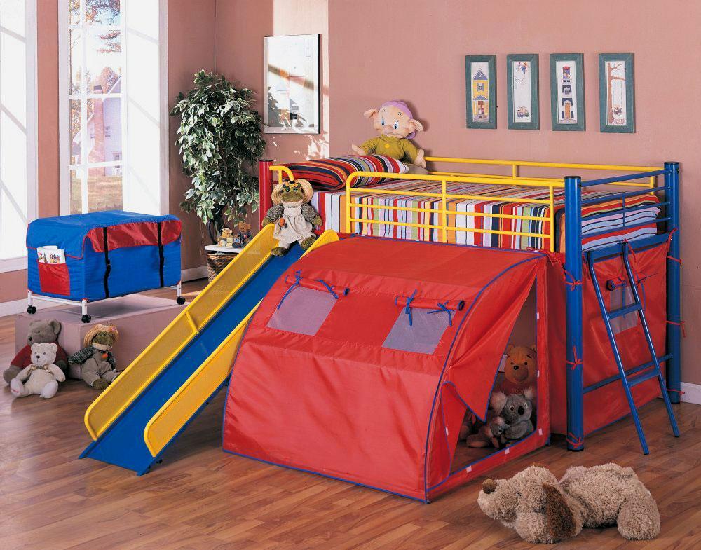 Детская кровать с игровой зоной (20)