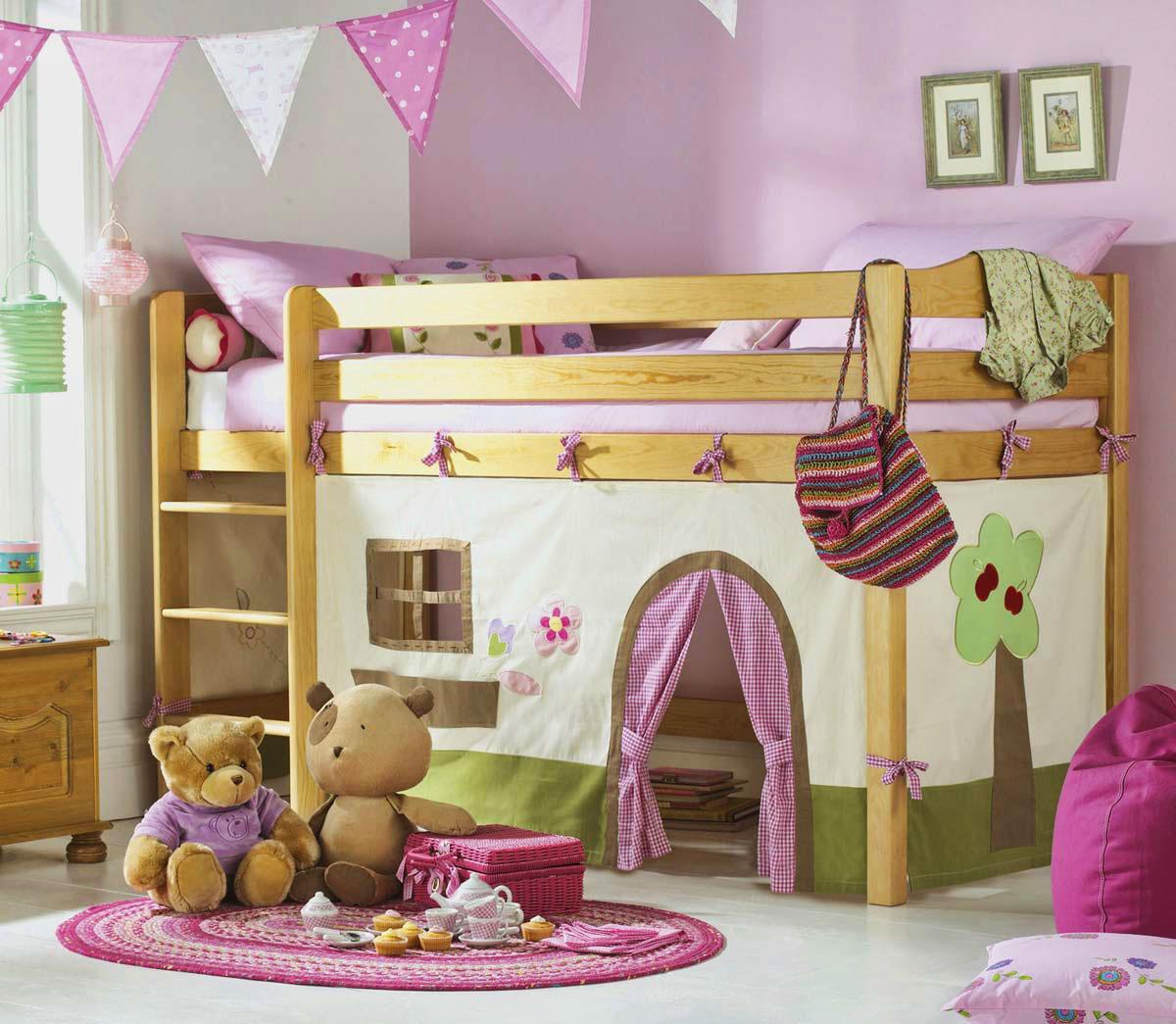 Детская кровать с игровой зоной (26)
