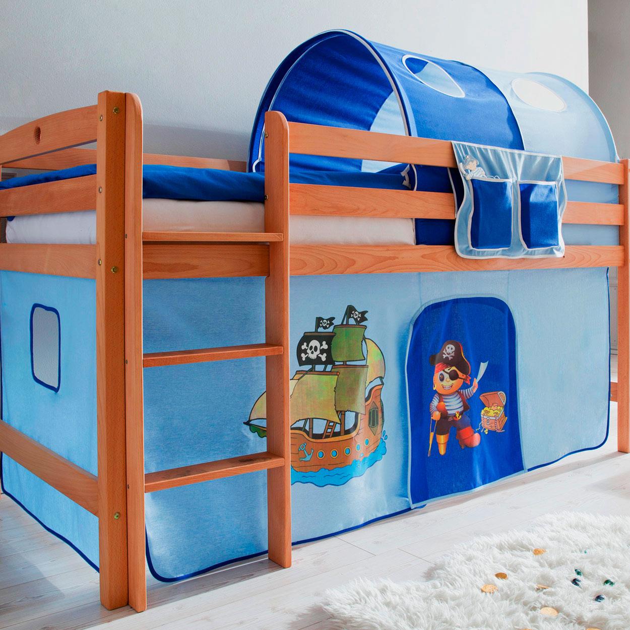 Детская кровать с игровой зоной (28)