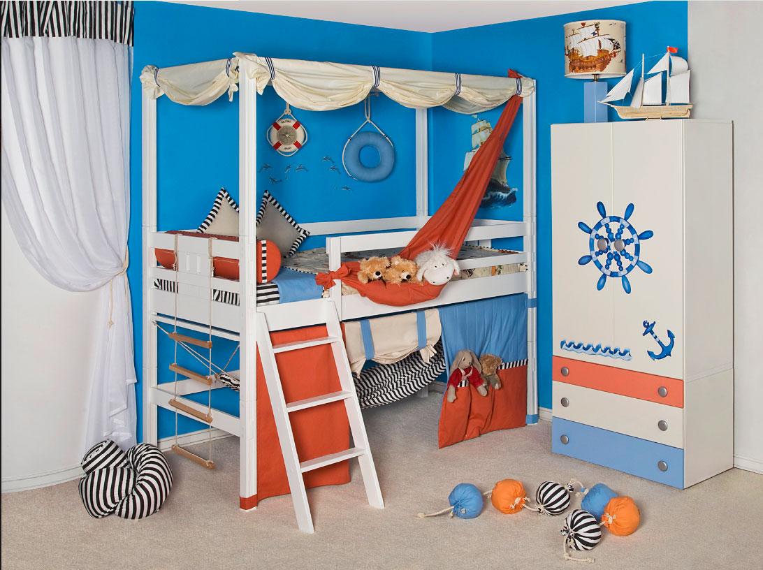 Детская кровать с игровой зоной (33)