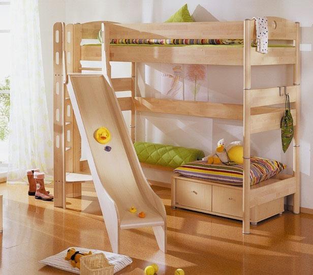Детская кровать с игровой зоной (4)