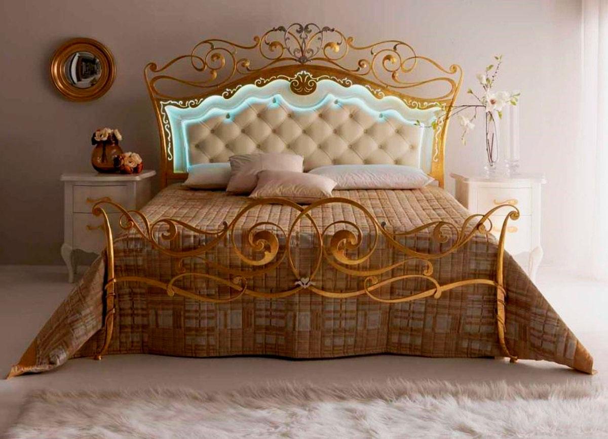 Кованая кровать (11)