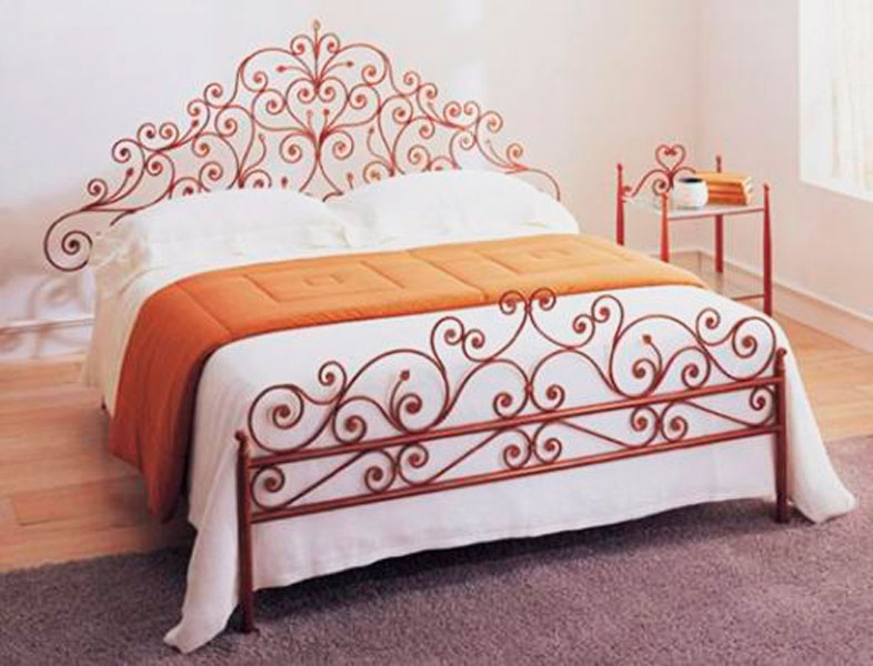 Кованая кровать (12)