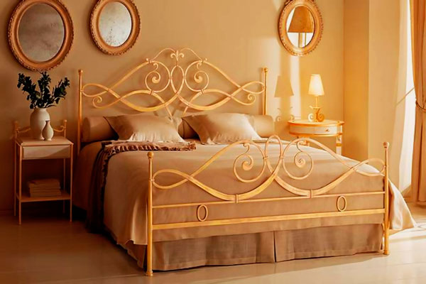 Кованая кровать (13)