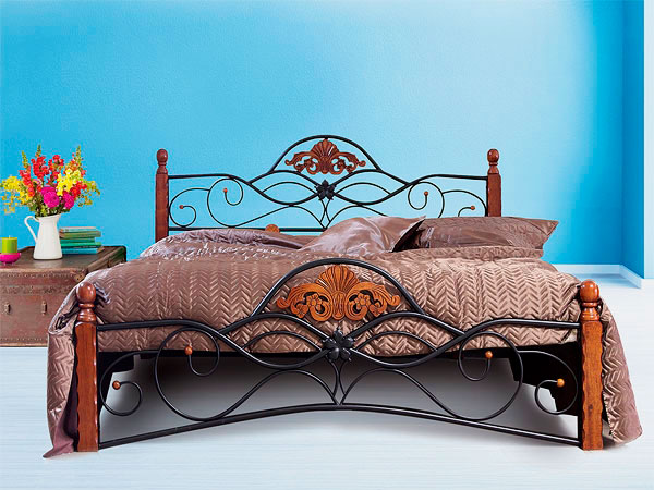 Кованая кровать (14)