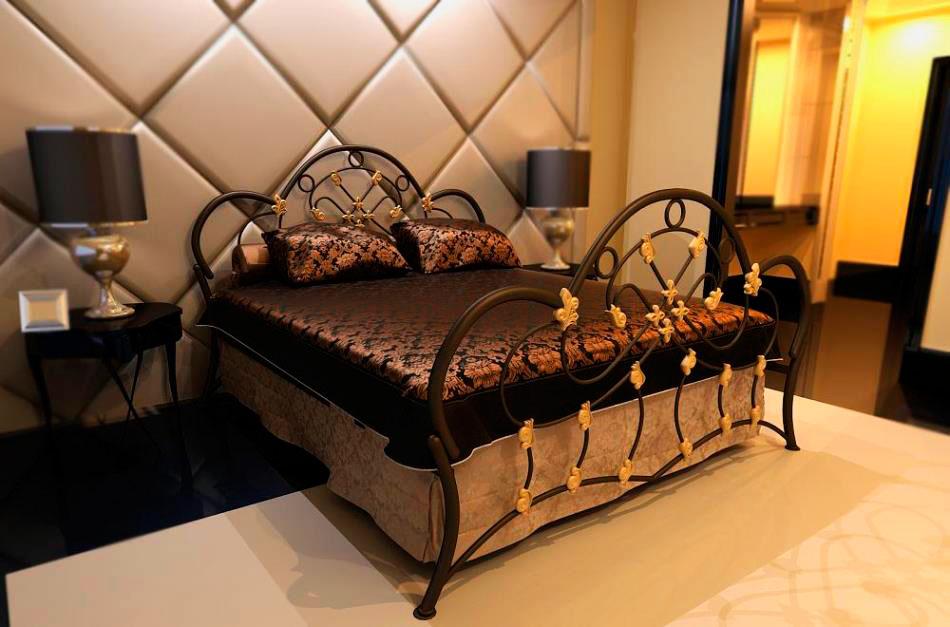 Кованая кровать (16)