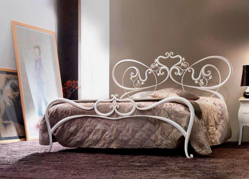 Кованая кровать (17)