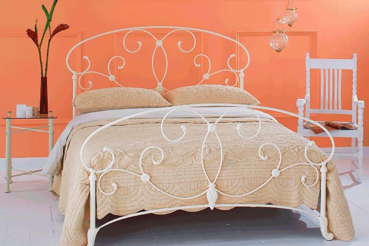Кованая кровать (19)