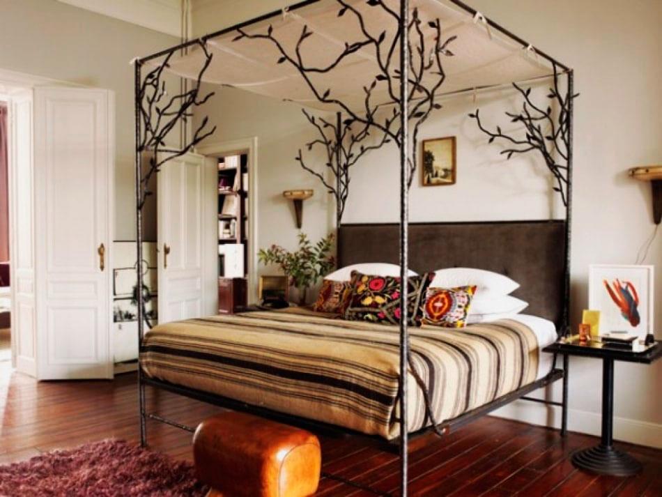 Кованая кровать (2)