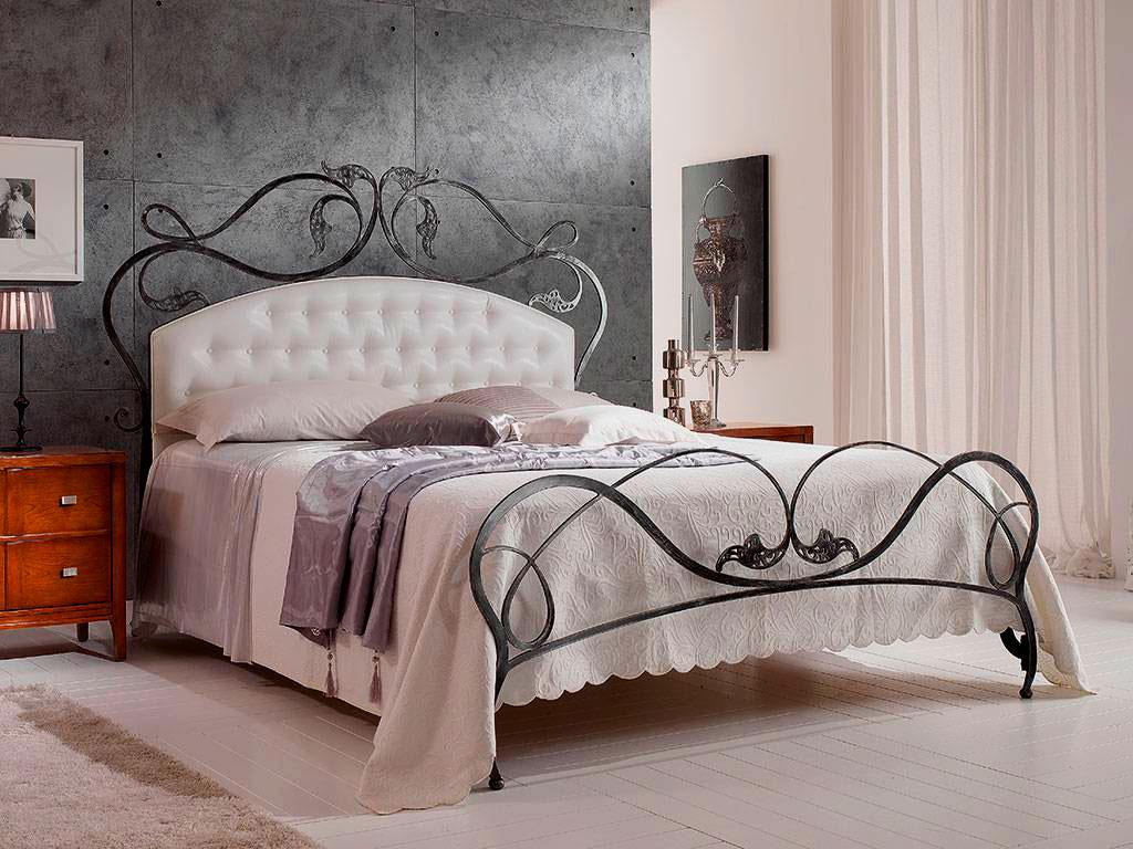 Кованая кровать (24)
