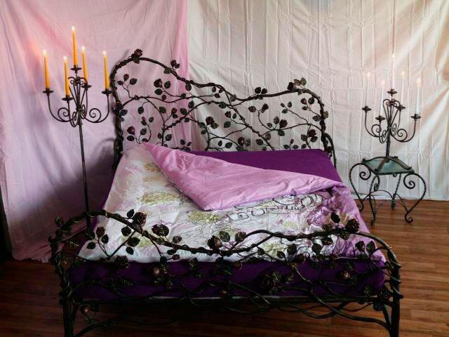 Кованая кровать (25)