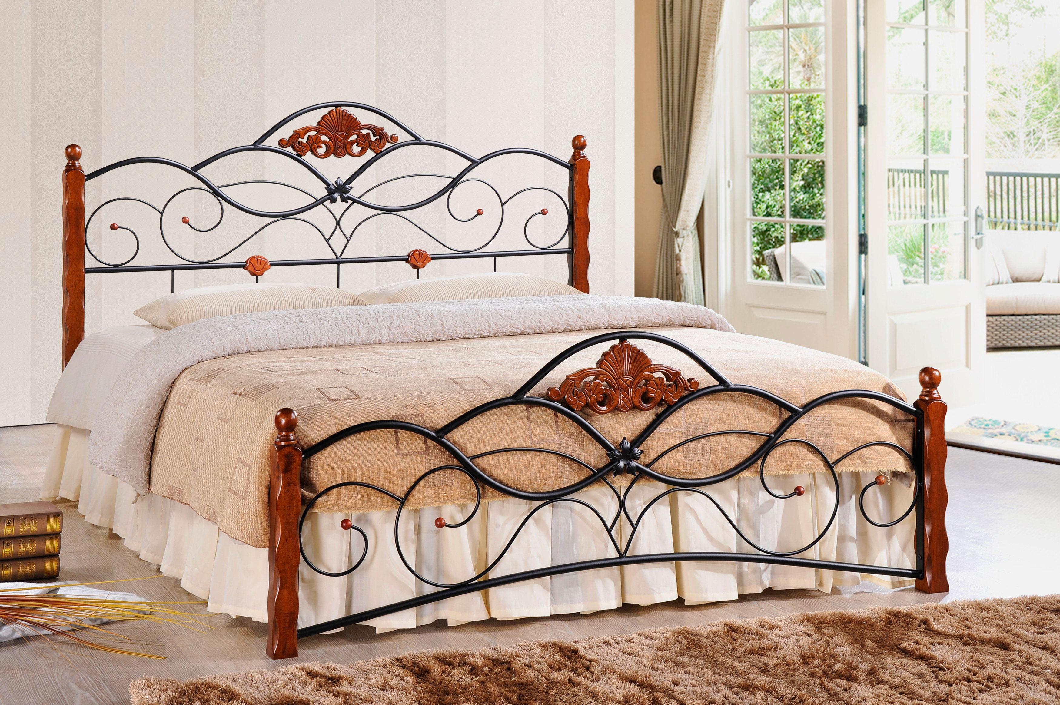 Кованая кровать (27)