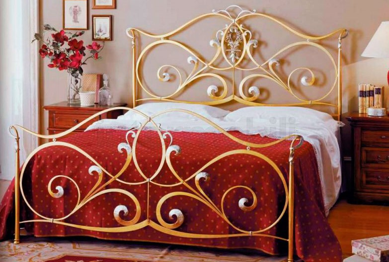 Кованая кровать (3)
