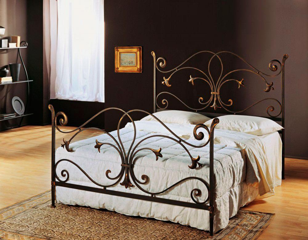 Кованая кровать (34)