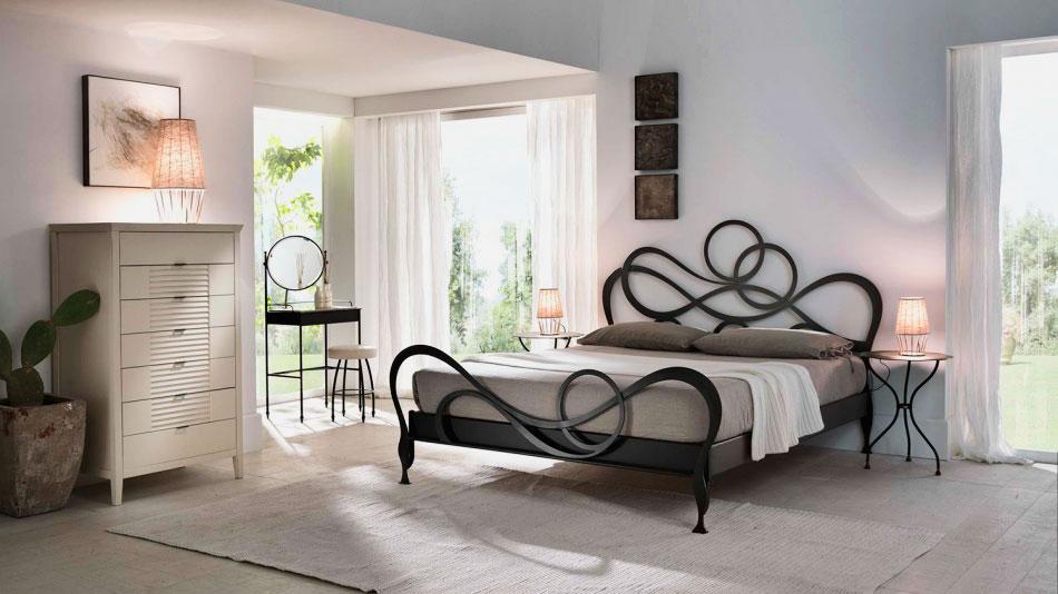 Кованая кровать (40)