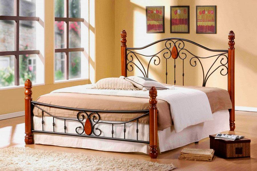 Кованая кровать (41)
