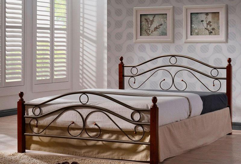 Кованая кровать (49)
