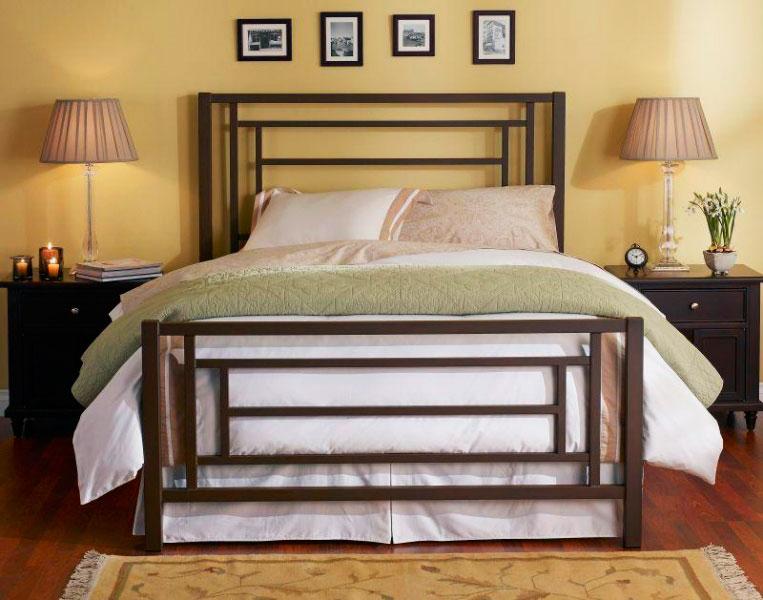 Кованая кровать (5)